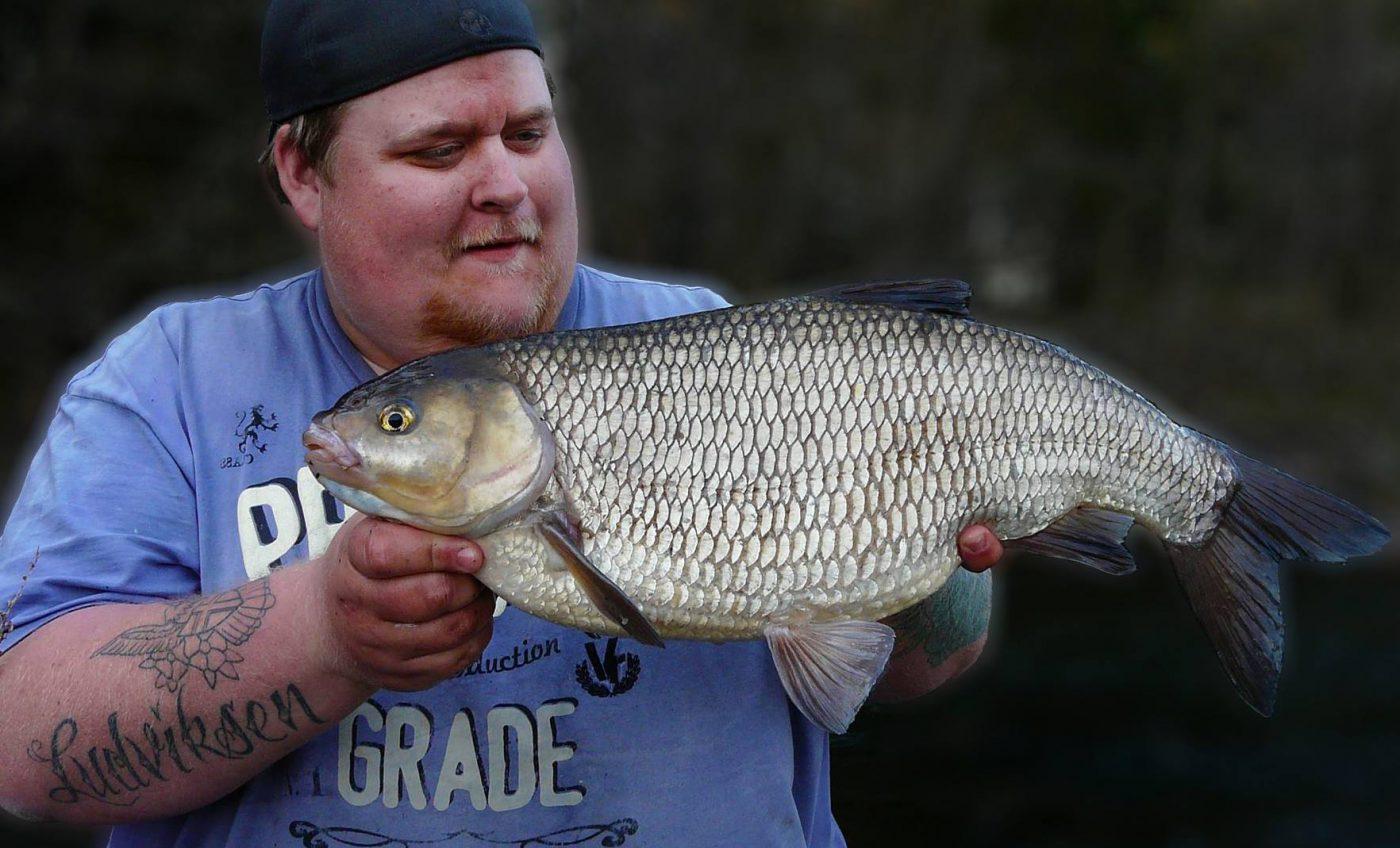 Daniel Ludviksen med en id på 3275 gram