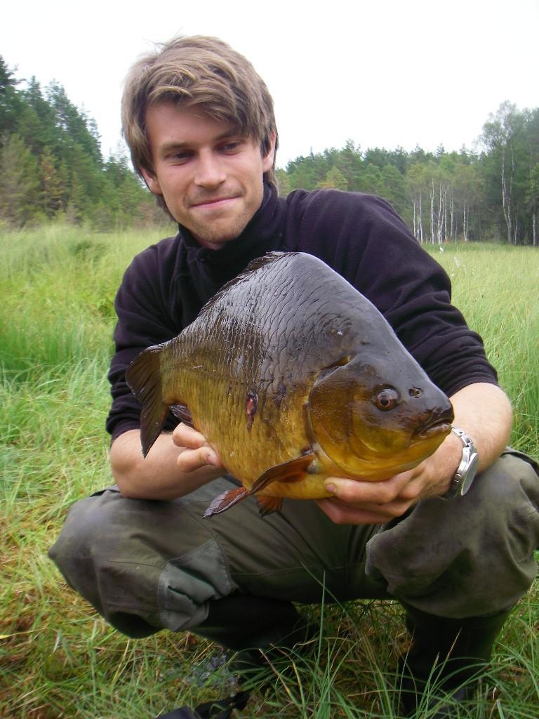 Pelle Andersson med en fin ruda