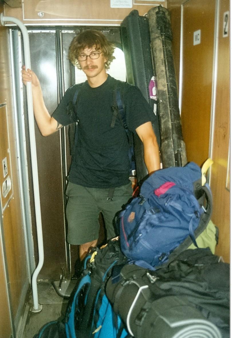 Pontus Wallin på väg till Bosnien
