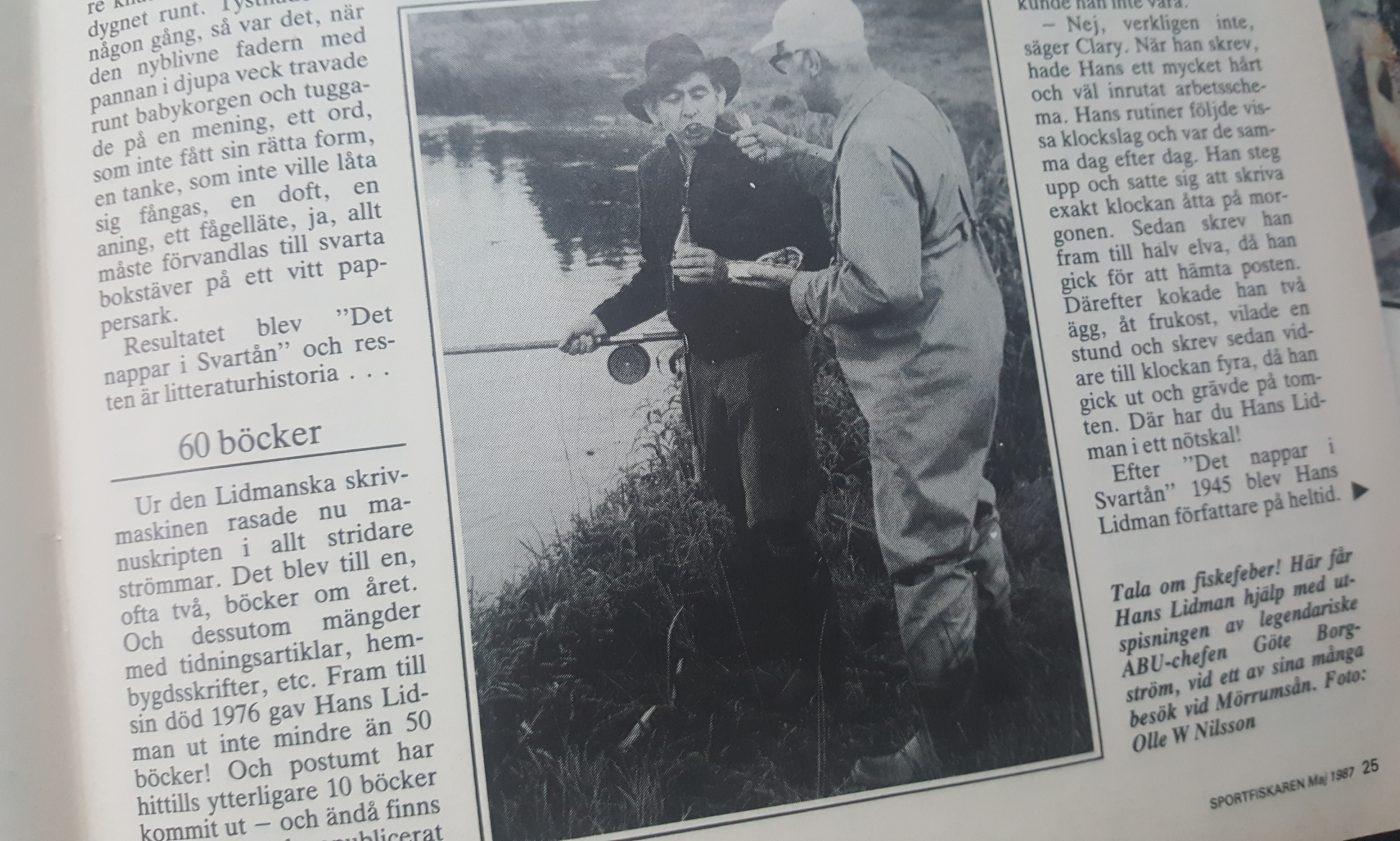Specimenfisket i Sverige 1987