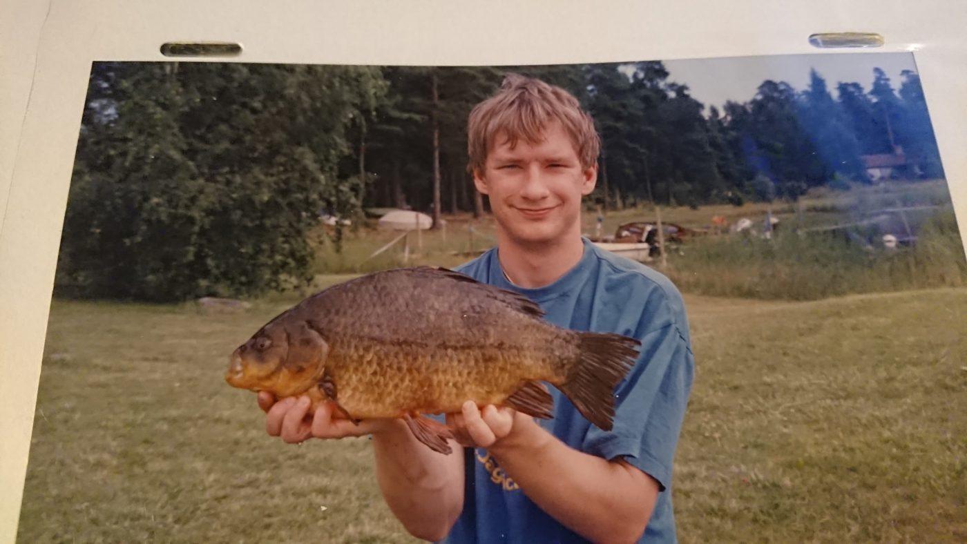 En ung Martin Bengtsson