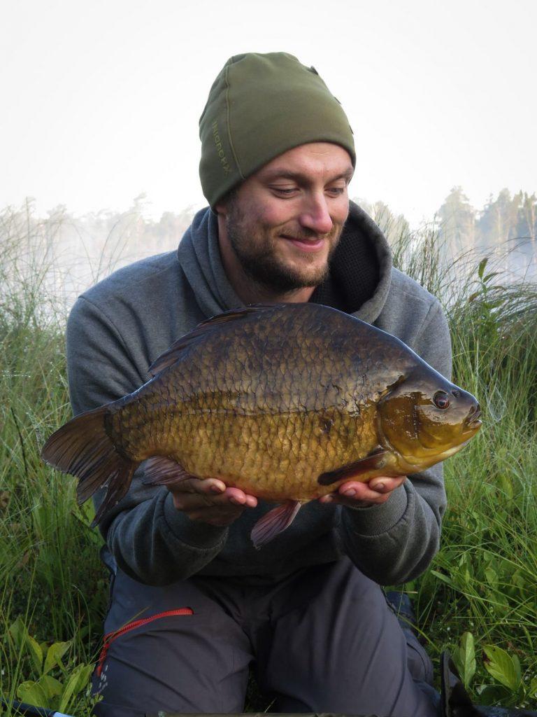 David Edling med en ruda på hela 3000 gram från Ursjön