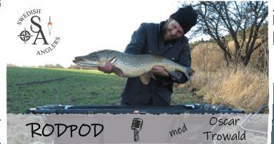 Avsnitt 8 av Swedish Anglers RodPod