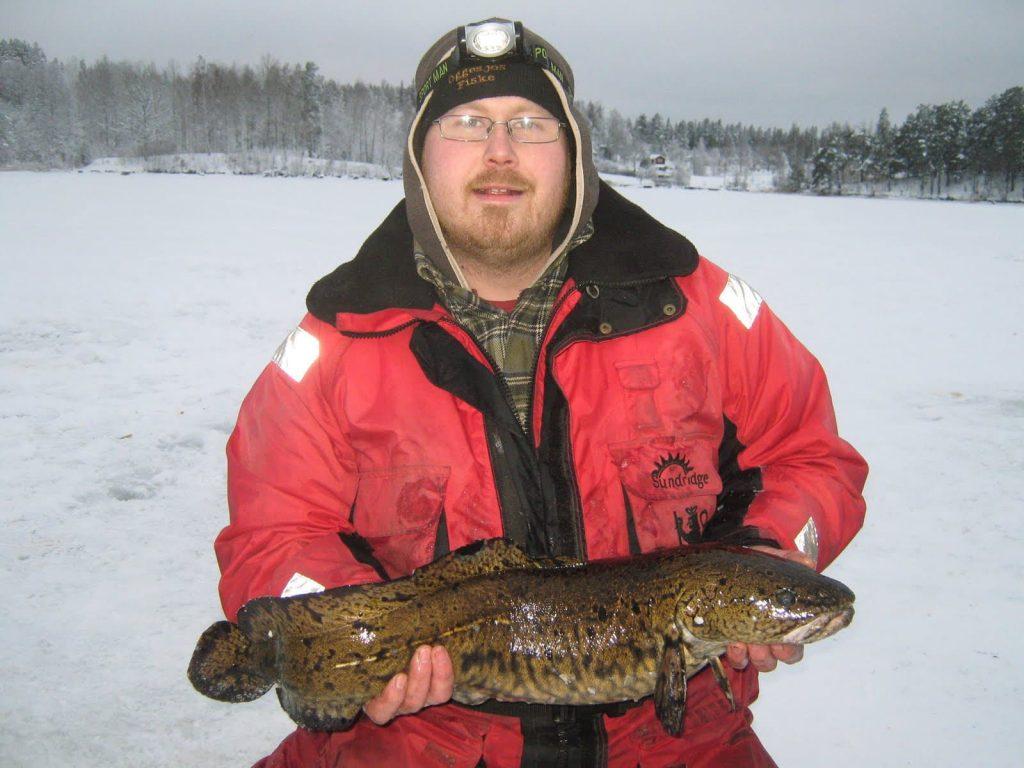Håkan Nordling med en fin Lake