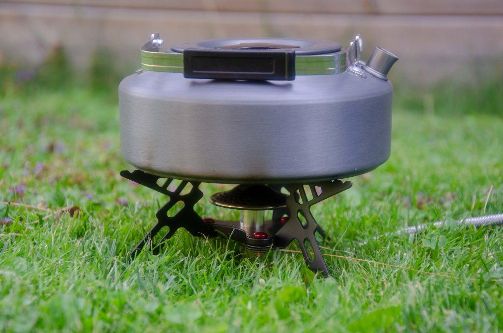 NGT - Portable Stove med en vattenkokare på är inga problem!