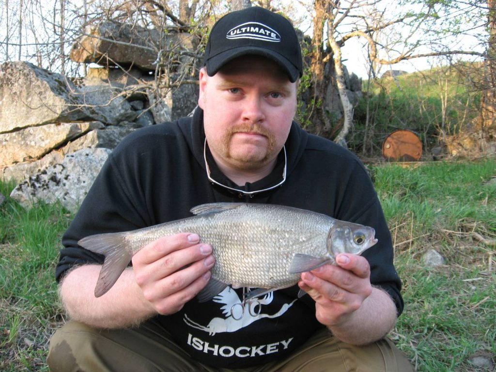 Dan Petterson med ännu en fin fisk