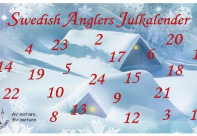 Swedish Anglers julkalender återvänder