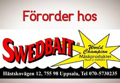 Förordertid hos Swedbait