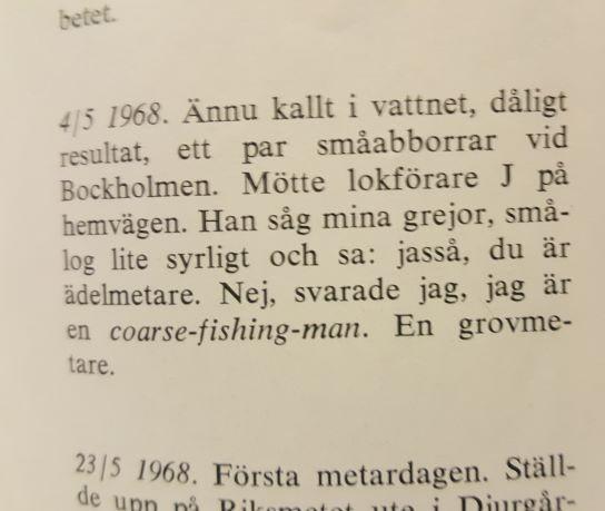 Historien om Svenskt Fiske Del 1