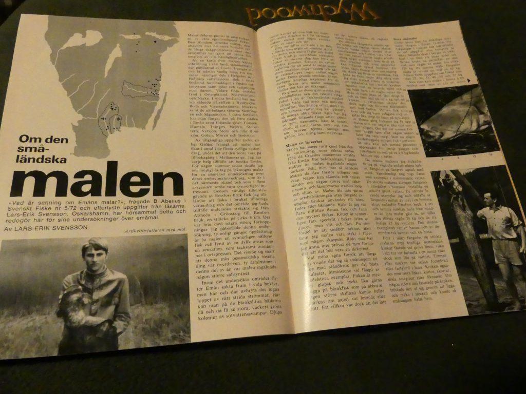 Malen - en artikel i Svenskt Fiske