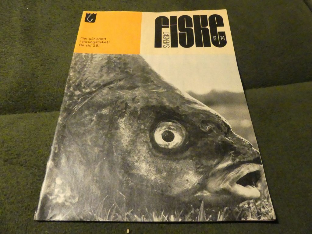 Svenskt Fiske nr 6 - 1974