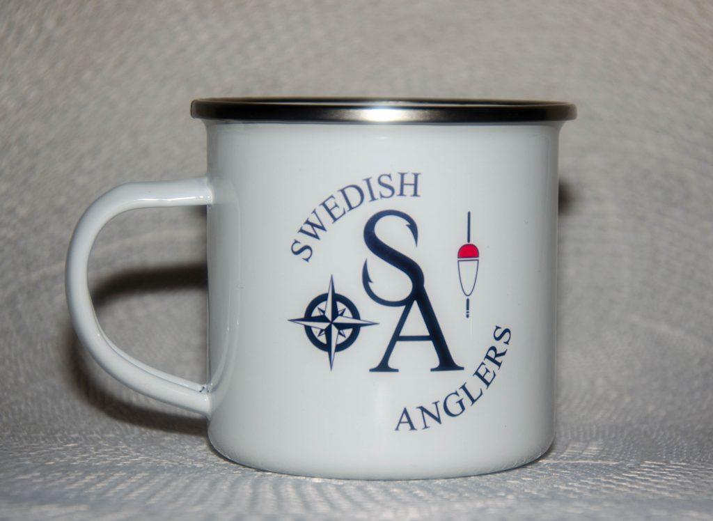 Swedish Anglers emaljmugg