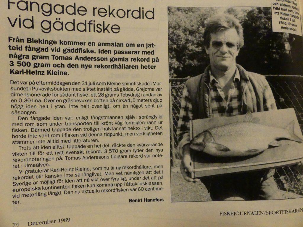 Rekord Id 3500 gram, 1989