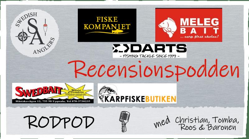 Avsnitt 18 av Swedish Anglers RodPod