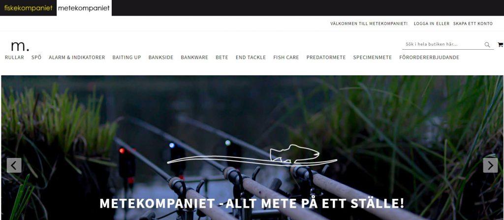 Fiskekompaniets nya hemsida.