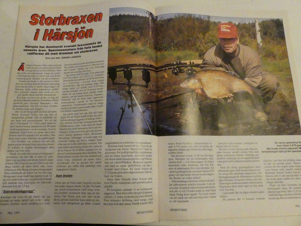 Jörgen Larsson - Storbraxen i Härsjön
