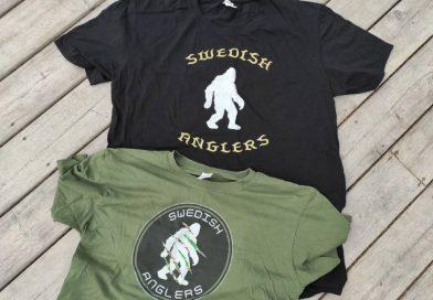 Nya Swedish Anglers T-shirts