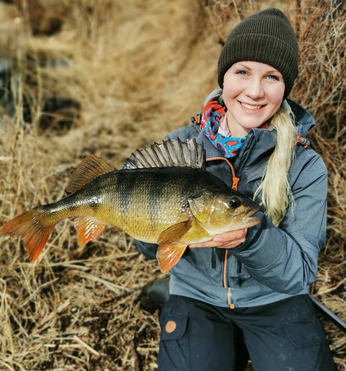 Linnea Lönn, gäst i Avsnitt 25 av Swedish Anglers RodPod