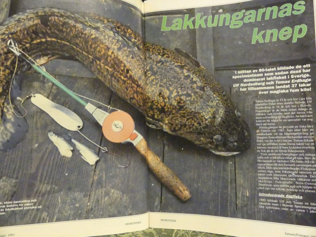 Specimenfisket i Sverige 1992