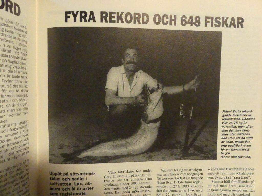 Fehmi Varlis rekordgädda