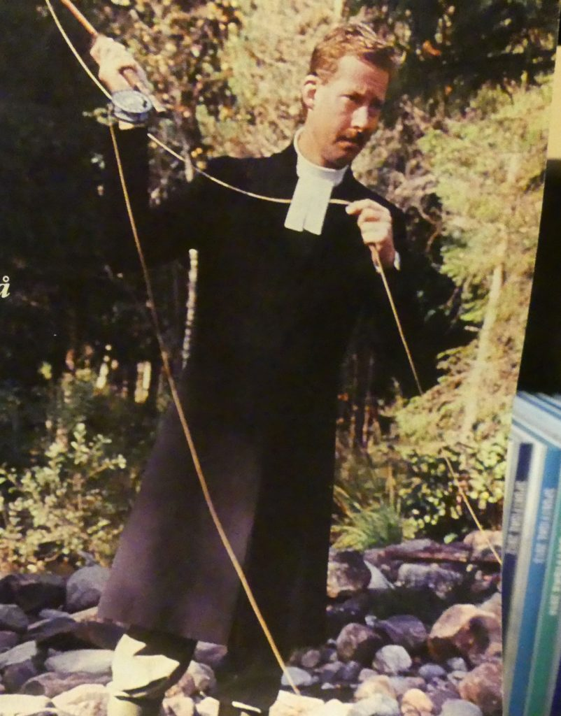 präst som fiskar